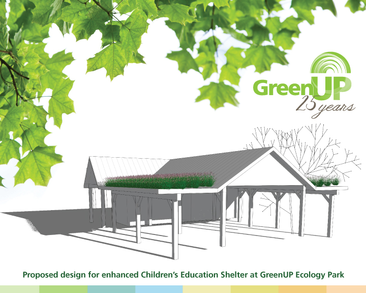 Improvements to Ecology Park are in the works for GreenUP's 25th Year