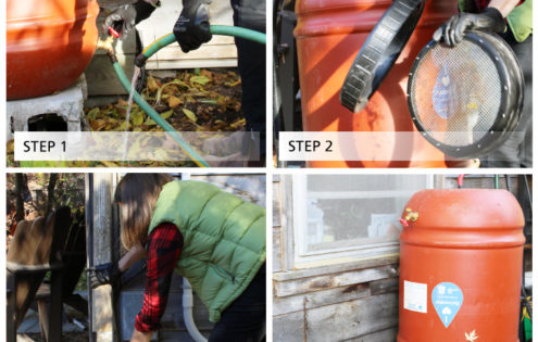 Winterizing your rain barrel in 4 easy steps