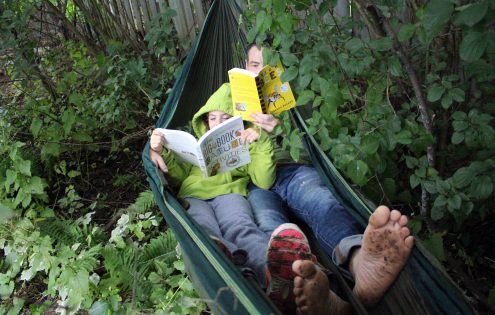 Ten green reads for the cottage, beach, or backyard this summer