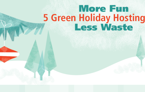 5 Tips for Hosting a Green Holiday Event