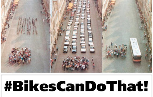 Want to reduce traffic congestion in Ptbo? #BikesCanDoThat!