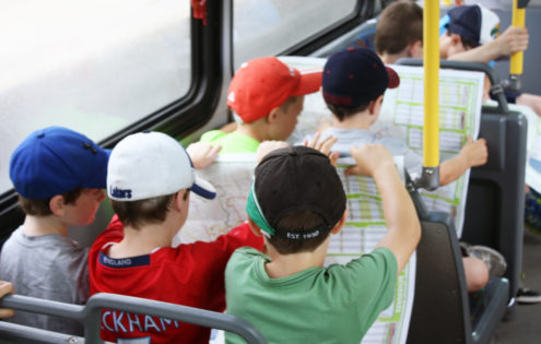 Getting Kids on Buses