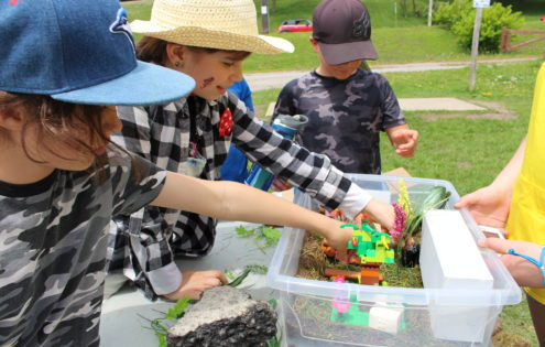 Peterborough Children's Water Festival offered three days of education this year!