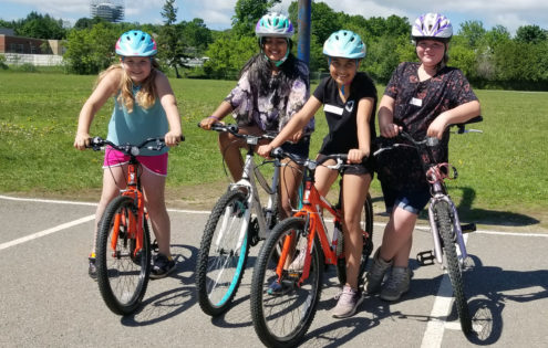 The Pedal Power program builds cycling confidence in our community's youth