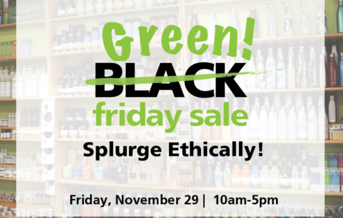Go GREEN on Black Friday