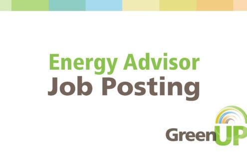 Job Posting – Energy Advisor