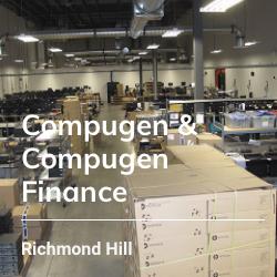 Compugen in Richmond Hill, Ontario.
