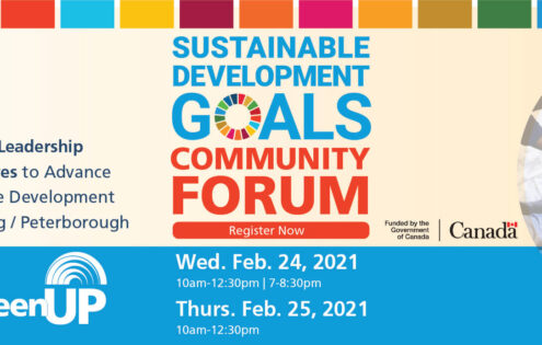 Sustainable Development Goals in Nogojiwanong Peterborough