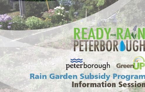 Rain Garden Subsidy Program – Information Session